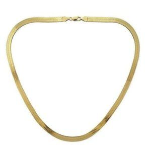 Jewelry - 18K Gold Plated Chain Necklace Italy 24 inch